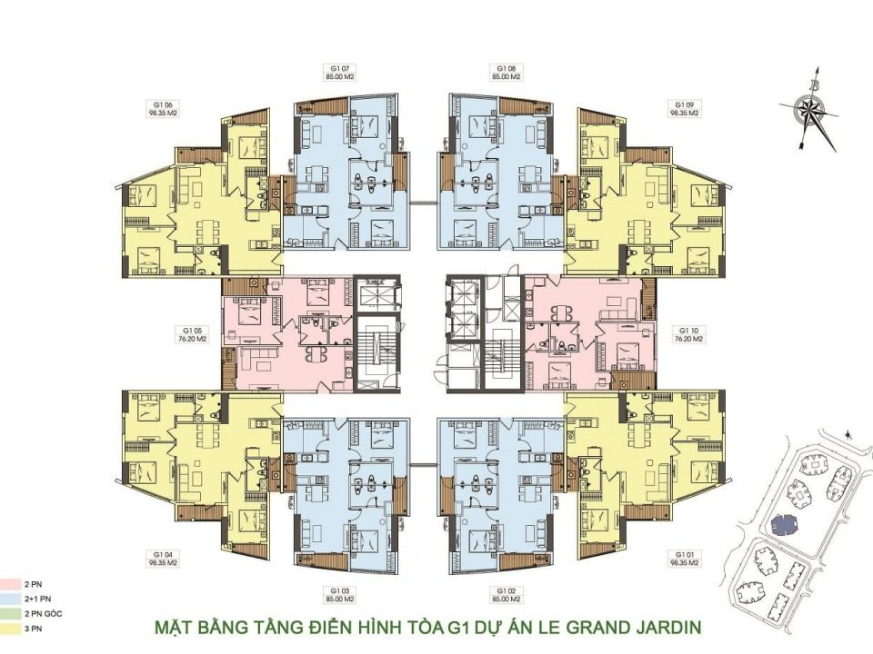 mat bang toa g1 du an chung cu le grand jardin no15 no16 sai dong brg group