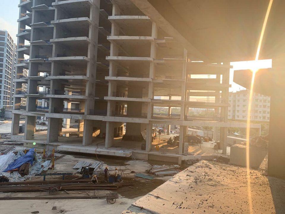 Tiến độ xây dựng dự án chung cư Sài Đồng Le Grand Jardin No15 No16 BRG Group