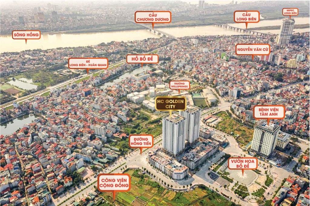 Tổng quan dự án chung cư HC Golden City