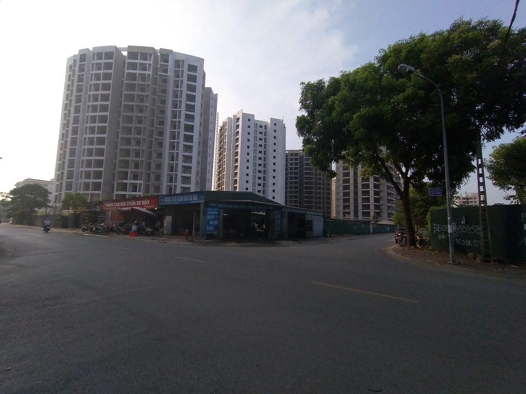 Tiến độ xây dựng tòa G2 dự án Le Grand Jardin Sài Đồng
