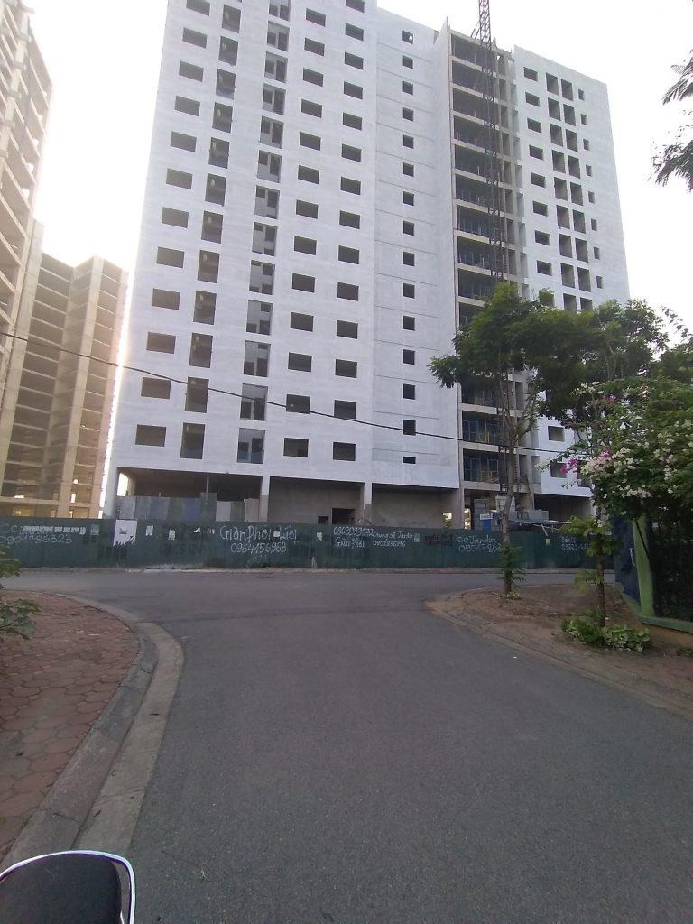 Tiến độ xây dựng tòa L3 dự án Le Grand Jardin Sài Đồng
