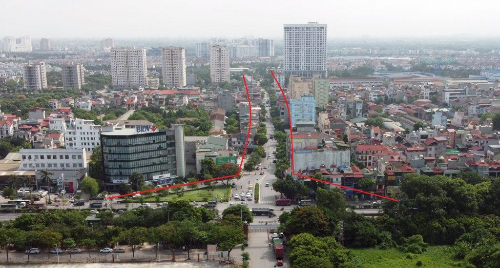 Quy hoạch mở rộng đường Sài Đồng về phía dãy lẻ năm 2020